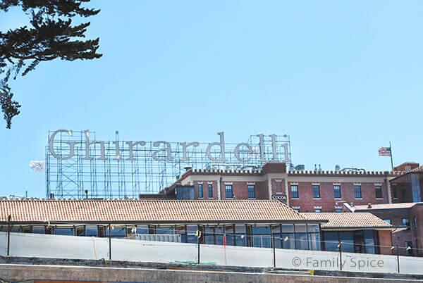 Ghiradelli Square Sign by FamilySpice.com