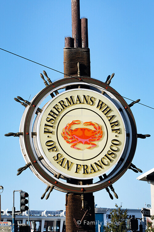 Fisherman's Wharf Sign by FamilySpice.com