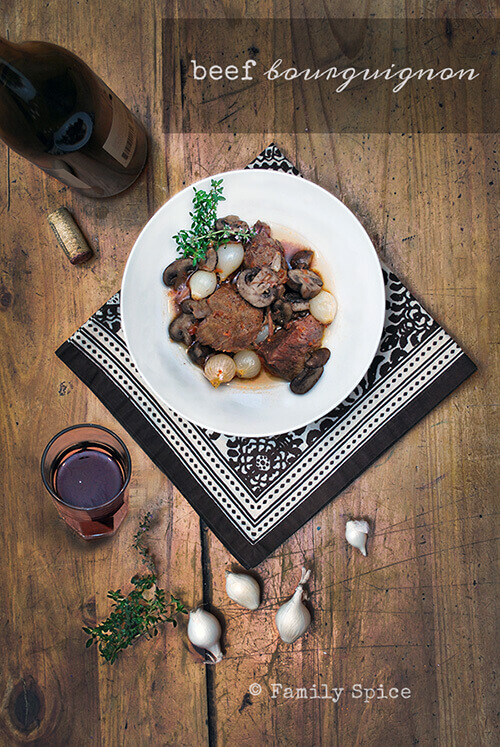 Cheap Gourmet: Beef Bourguignon on a Budget by FamilySpice.com
