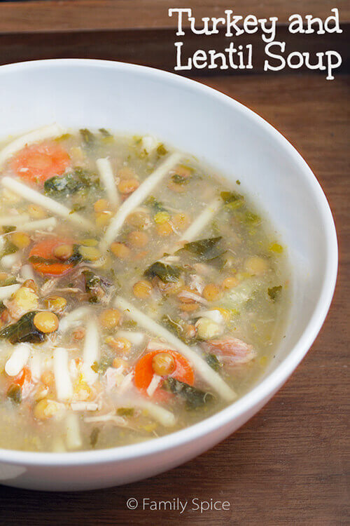 Turkey And Lentil Soup by FamilySpice.com