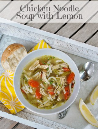 Daring Cooks Stock to Soup to Consommé: Chicken Noodle Soup with Lemon