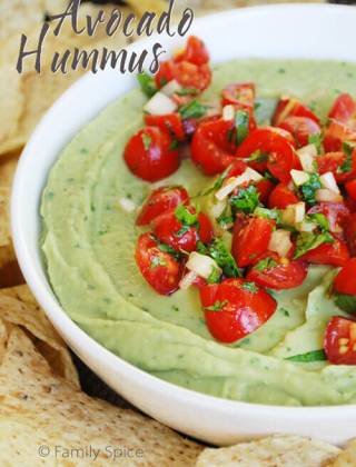 Avocado Love with Avocado Hummus