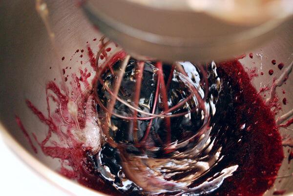 Making Pomegranate Marshmallows