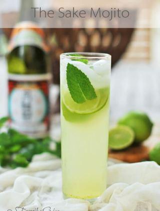 The Sake Mojito… YES, PLEASE!!!