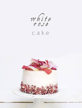 A White Rose Cake for Spring