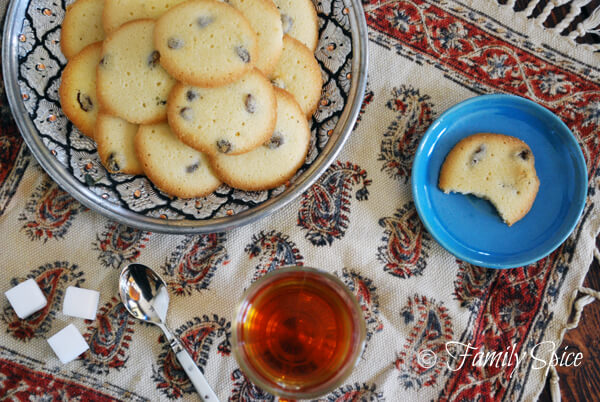 Persian Saffron Cookies