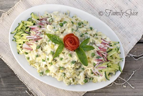 Salad Olivea (Persian Potato Salad with Chicken)