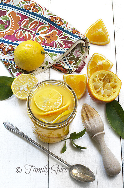 Food Photography Tips on a Budget: Persian Orange Cooler