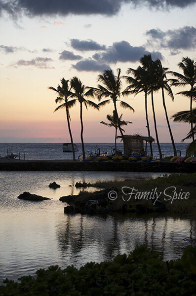 Sunset at Waikoloa Beach