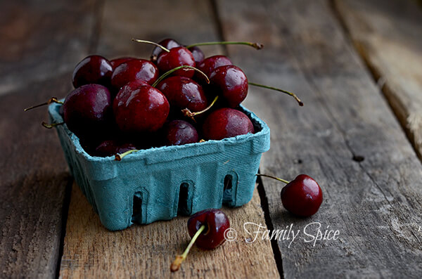 Cherries for Cherry Cola Ice Cream by FamilySpice.com