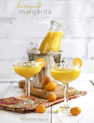 Toast Margarita Day with a Kumquat Margarita