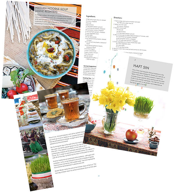 EBOOK - Norouz: The Traditions and Food of the Persian New Year by FamilySpice.com