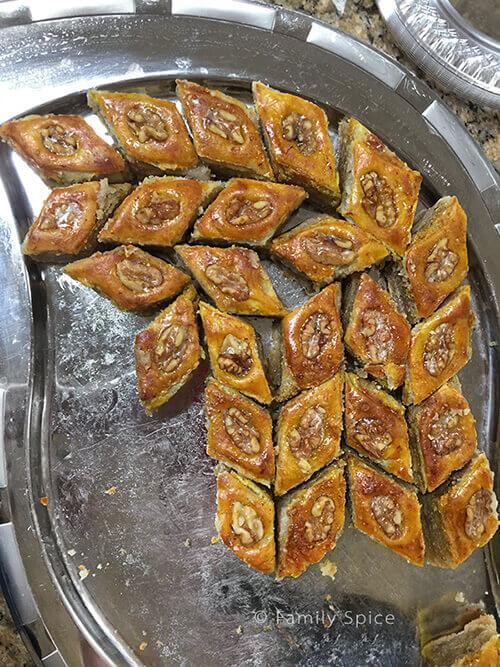 Baku-style baklava from Pomegranates and Saffron Cookbook by Feride Buyuran
