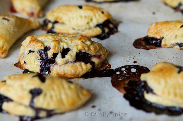 Kids Do Eat Real Food | Blueberry and Lemon Hand Pies by FamilySpice.com