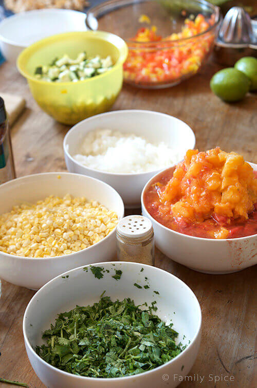 Kids Do Eat Real Food | Ingredients for Chicken Tortilla Soup by FamilySpice.com