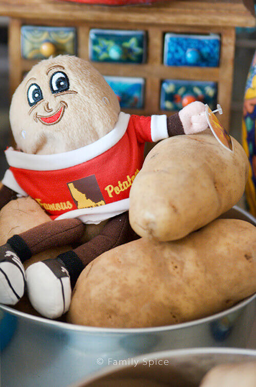 Idaho Potato Commission was a fabulous sponsor of my Cooking Camp for Kids - FamilySpice.com