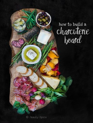How to Build a Charcuterie Board | Giveaway