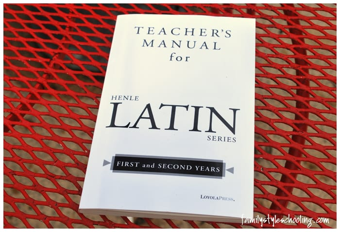 Henle Latin Teachers Manual