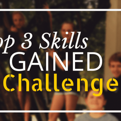 Top 3 Skills Gained in Challenge A