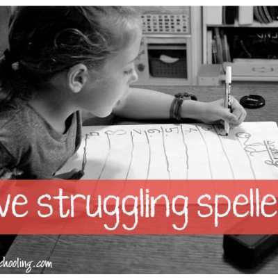 Adventures in Spelling…and Reading for that matter