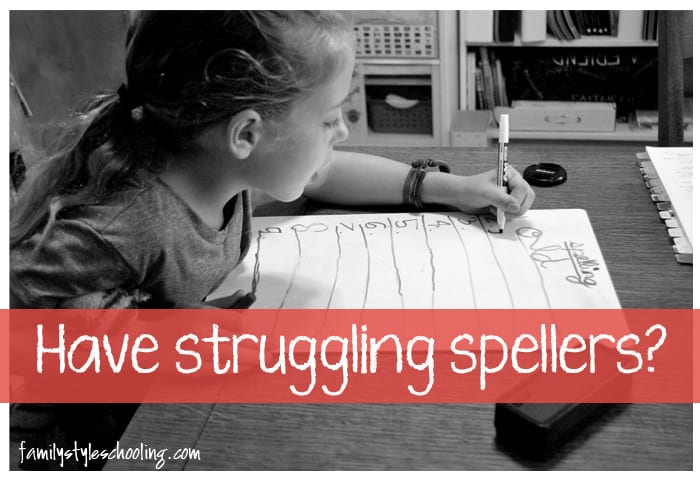 spell to write and read struggling spellers