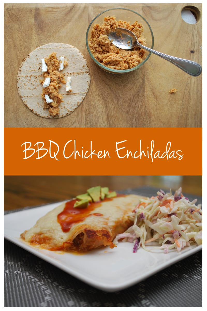 BBQ Chicken Enchilada recipe