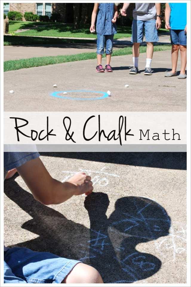 Rock and chalk math outside