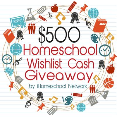 Homeschool Wishlist Cash Giveaway by iHomeschool Network