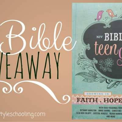 NIV Bible for Teen Girls – Giveaway!