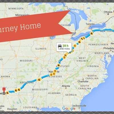 Homeward Bound by Way of Niagara Falls