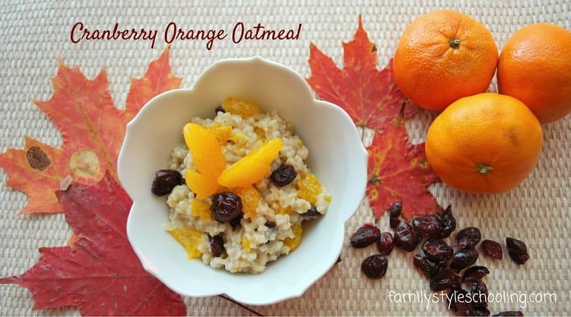 Fall Oatmeal