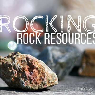 Let's Learn About Rocks: Rocking Rock Resources