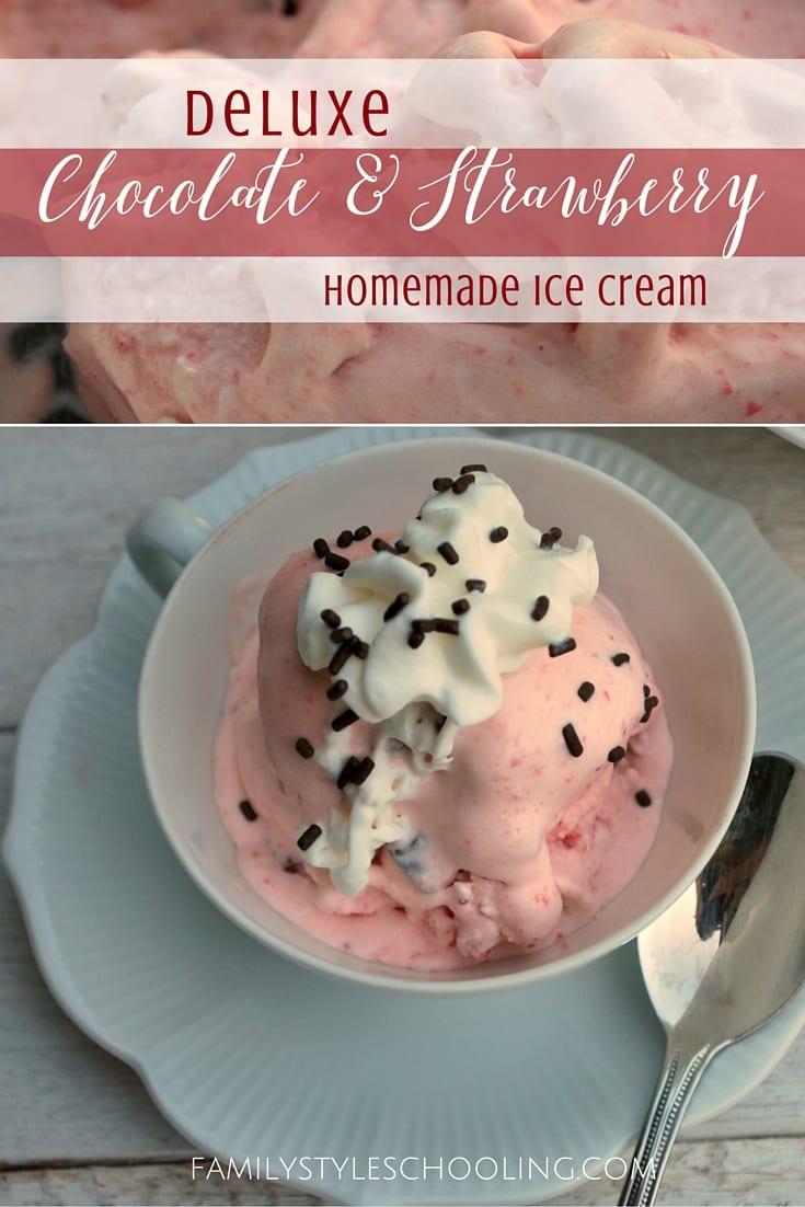 strawberry homemade ice cream (5)