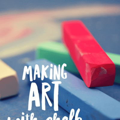 Making Art With Chalk: Hands-On Learning Stations