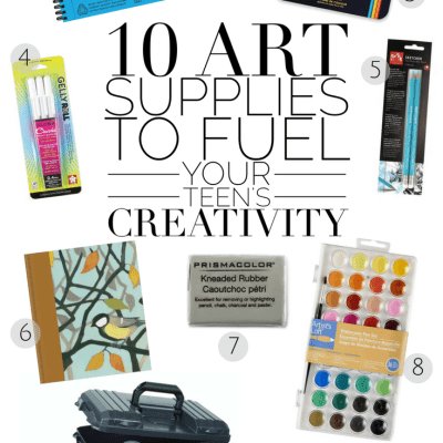 10 Art Supplies to Fuel Your Teen's Creativity
