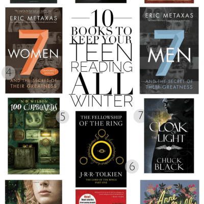 10 Books to Keep Your Teen Reading All Winter