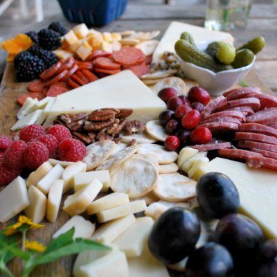 Every Good Holiday Party Starts With A Cheese Board