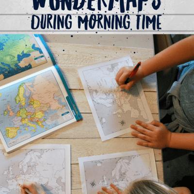 5 Ways to Use WonderMaps During Morning Time