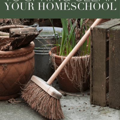 10 Ways to Spring Clean Your Homeschool