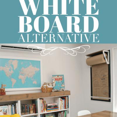A Stylish White Board Alternative