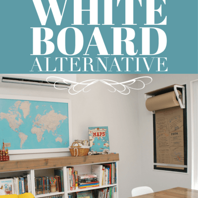 A Stylish White Board Alternative