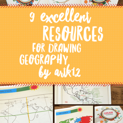 9 Excellent Resources for Drawing Geography by ArtK12