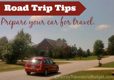 Preparing your car for travel