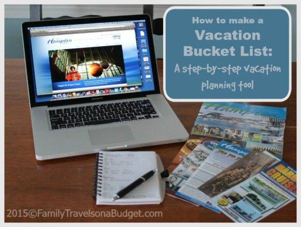 Bucket List vacation planning tutorial FamilyTravelsonaBudget.com