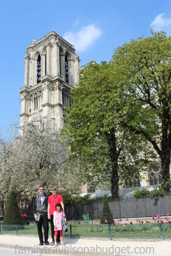 notre dame cathedral kids