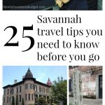 25 Savannah travel tips you need before you go