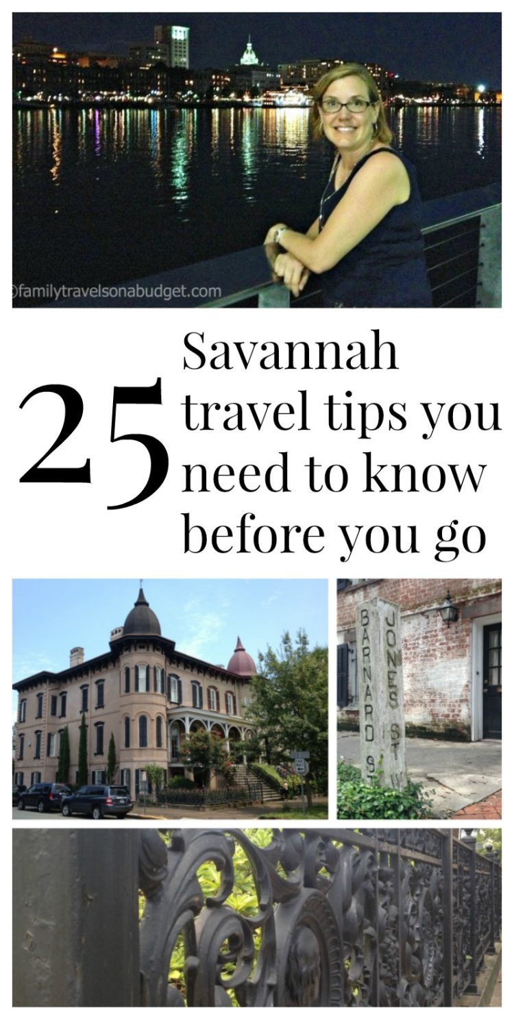 25 Savannah travel tips to know before you go