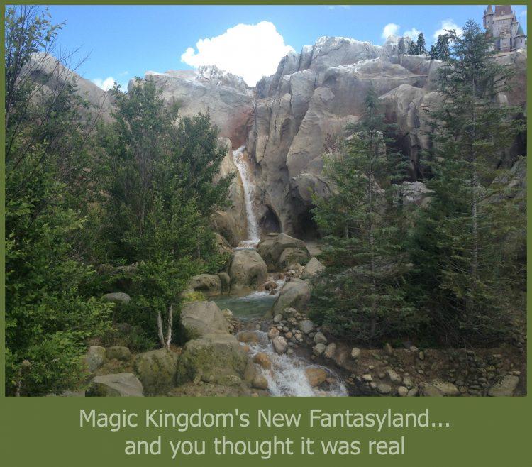 New Fantasyland at Magic Kingdom