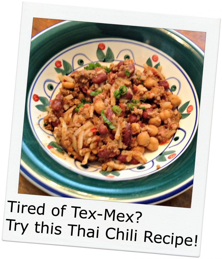 Inspired Thai Chili Recipe
