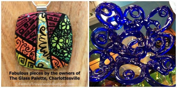 charlottesville arts glass palette